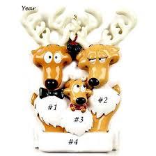 reindeer family 3 ornament 6 3 6 3