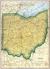 Logan Ohio Map by Ohio Genealogy U2013 Access Genealogy