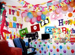 Birthday Decoration Ideas For Boy 4 Beautiful Birthday Decoration Ideas At Room Srilaktv Com