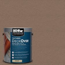 behr premium textured deckover 5 gal sc 147 castle gray wood and