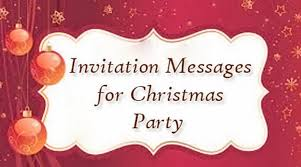 invitation messages christmas party jpg