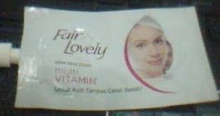 Pelembab Citra Sachet talks fair lovely krim pencerah multivitamin