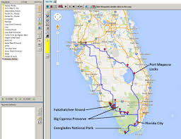 Map Of Brandon Florida by Kamoklr Everglades Road Trip