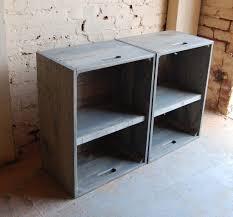 nightstand bedroom nightstand impressive crate end table diy