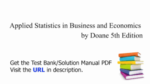 practice test bank for applied statistics in business and