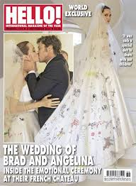 wedding dress covers stuns in wedding dress on magazine covers ny