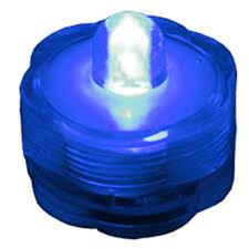 submersible led tea lights blue submersible led single tea light
