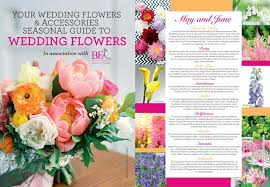 wedding flowers guide notice board