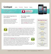 iphone application template codepal