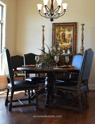 dining chairs and tables at accents of salado old world dining