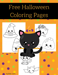 31 halloween 31 free halloween coloring pages