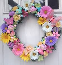 easter springtime wreath 57 00 handmade holidays crafts and