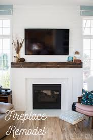 the great fireplace remodel planked walls beam mantels built