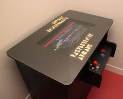 play table board game console raspberry pi arcade table