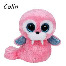 beanie boos original big eyes plush toy kawaii doll child birthday