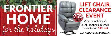 Medical Chair Rental Frontier Home Medical Provides Premium Home Healthcare Equipment