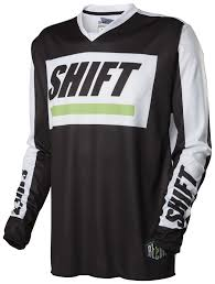 motocross gear combos closeouts shift recon caliber jersey revzilla