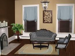 delectable brown color palette living room decoration study room