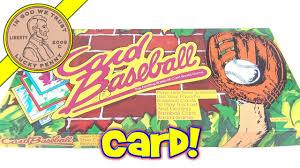 card baseball 9000 1991 mcque games the exciting baseball card