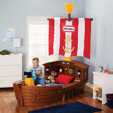 pirate ship bed for boys creative kids room