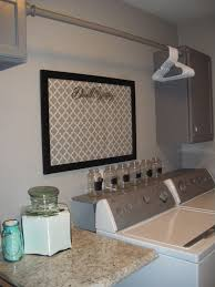 Laundry Room Cabinets by Interior Laundry Room Cabinets With Hanging Rod Craftsman