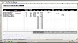 Building Cost Spreadsheet Using An Excel Spreadsheet To Record And Break Down Business