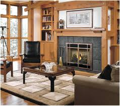glass enclosed wood burning fireplace screens outdoor glass