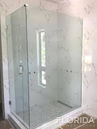 Seamless Glass Shower Door Frameless Enclosures Florida Shower Doors Manufacturer