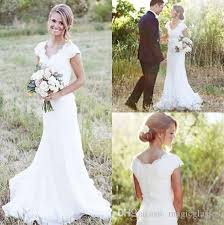 cheep wedding dresses discount 2017 country lace wedding dresses mermaid v neck