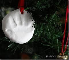 handprint ornament building memories ornament babies