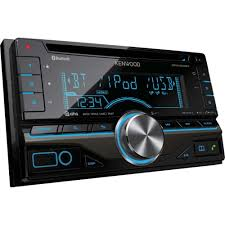 kenwood dpx 405bt double din car stereo with built in blueto