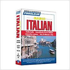 pimsleur italian basic course level 1 lessons 1 10