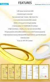 fry s led light strips dc24v 5m roll smd5050 dot free led neon flexible strip light for