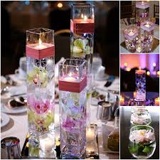 water centerpieces diy floating candle centerpiece ideas wedding centerpieces with