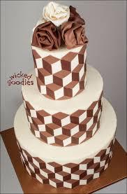 optical illusion cake design