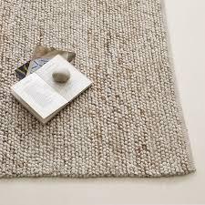 pebble rug mini pebble wool jute rug natural ivory west elm