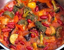 easy gluten free vegan crockpot vegetable chili recipe