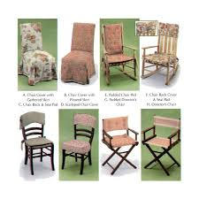 Sewing Patterns Home Decor Chair Covers Chair Pads Home Decor Sewing Pattern By Donna Lang
