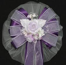 Wedding Pew Bows Lavender Wedding Bows Package Perfect Bows