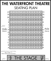 seating plans carousel theatre for young people