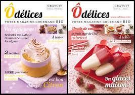 livre de cuisine gratuit le magazine gratuit de cuisine odelices com ôdélices