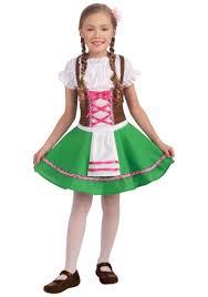 child gretel costume german costume dress