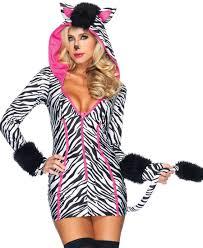 zebra halloween costume savanna zebra costume leg avenue 83986