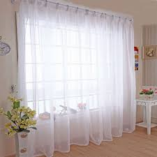 Triple Window Curtains Modern Kitchen Window Curtains Fully Lined With Floral Pattern