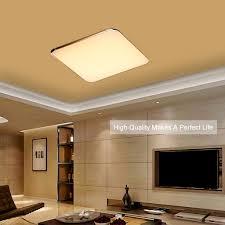 36w led dimming square ceiling light flush mount lamp wireless