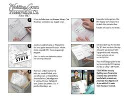 wedding gown preservation company wedding gown preservation co kit wedding dress preservation kit