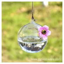 china beautiful design hanging glass vase glass terrarium plants