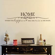 home is where the happiest memories are made home decor vinyl