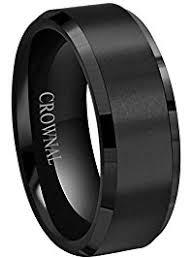 black wedding bands for men mens wedding rings