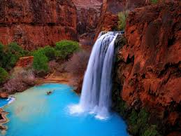 Arizona waterfalls images Arizona havasu waterfall 7024824 jpg